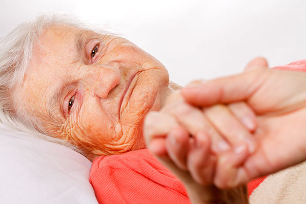 Terminally ill people and end of life care